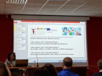 Presentazione in Collegio Docenti dei Progetti Erasmus approvati.