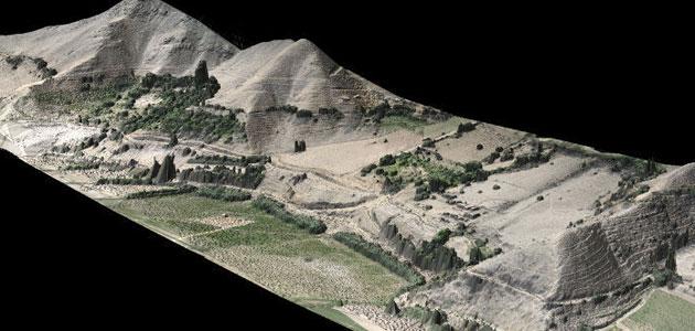 modello di terreno 3D