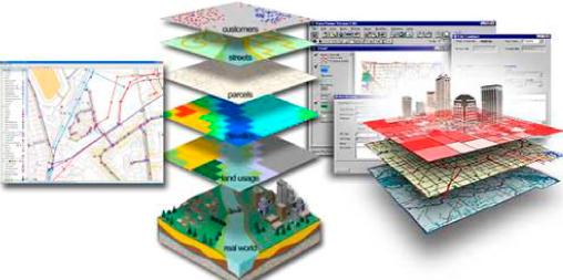 struttura GIS di un territorio