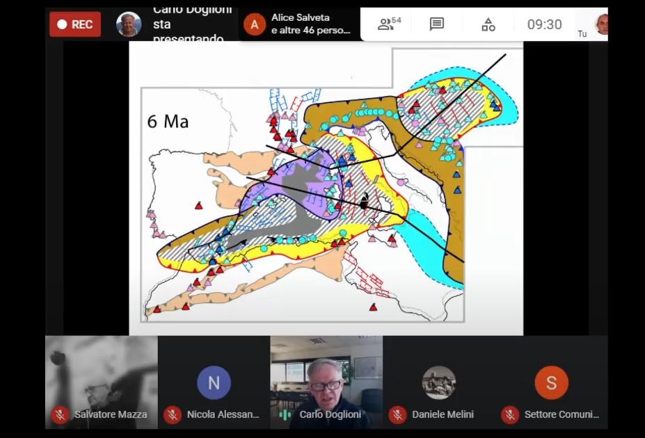 Mappa di pericolosità sismica